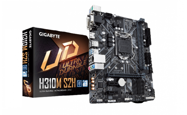 GIGABYTE H310M S2H with M.2 MicroATX Motherboard