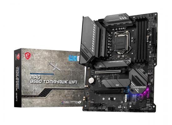 MSI MAG B560 TOMAHAWK WIFI LGA 1200 Intel B560 11th & 10th Intel CPUs Pcie Gen 4.0 , SATA 6Gb/s ATX Intel Motherboard