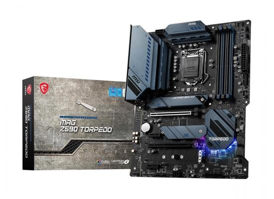 MSI MAG Z590 TORPEDO LGA 1200 Intel Z590 11th & 10th Intel CPUs Pcie Gen 4.0 , SATA 6Gb/s ATX Intel Motherboard