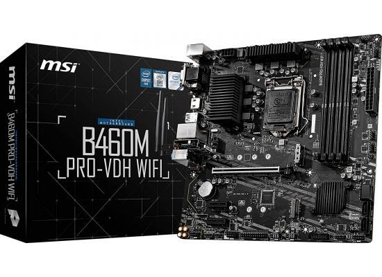 MSI B460M PRO-VDH WIFI Intel LGA 1200 M.2 microATX MotherBoard