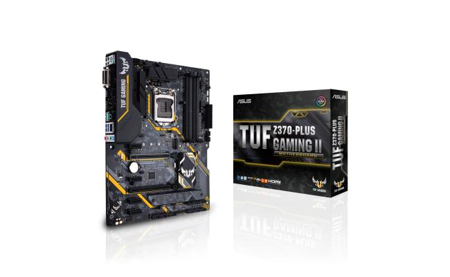 Asus TUF Z370-PLUS GAMING - Motherboard - ATX - LGA1151 Socket