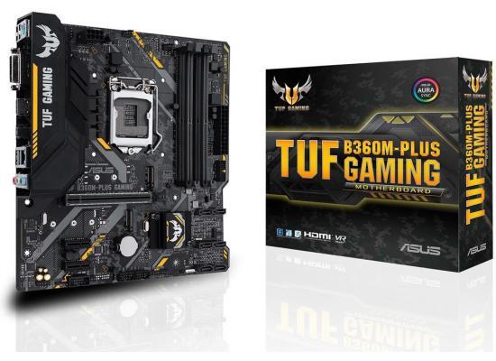 Asus TUF B360M-PLUS GAMING - Motherboard - ATX - LGA1151 Socket