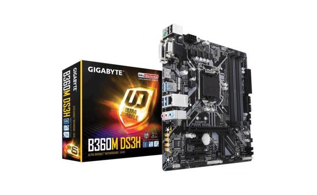 GIGABYTE B360 DS3H Intel B360  Motherboard