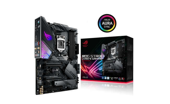 Asus ROG STRIX Z390-E  GAMING - Motherboard - ATX - LGA1151 Socket