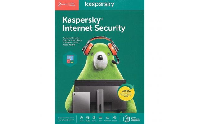 Kaspersky Internet Security, 1 Year License For 2 Devices