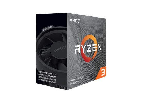 AMD Ryzen™ 3 3100 4-Cores Up to 3.9GHz Max Boost