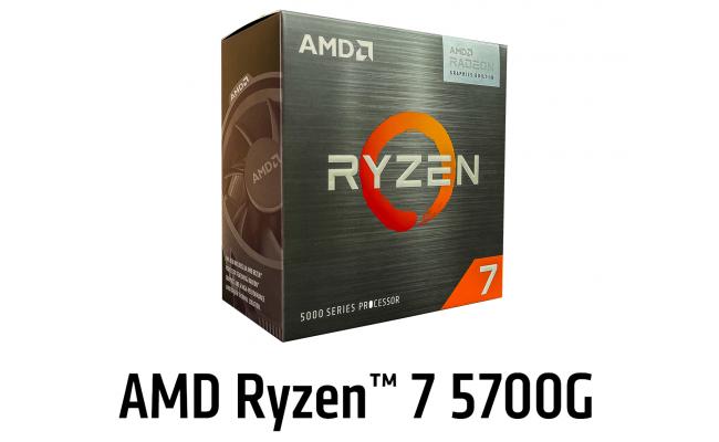 AMD Ryzen 7 5700G Up To 4.6 GHz 8 Cores /16 Threads, Radeon™ Graphics Vega 8,  2000MHZ -  AM4 Processor