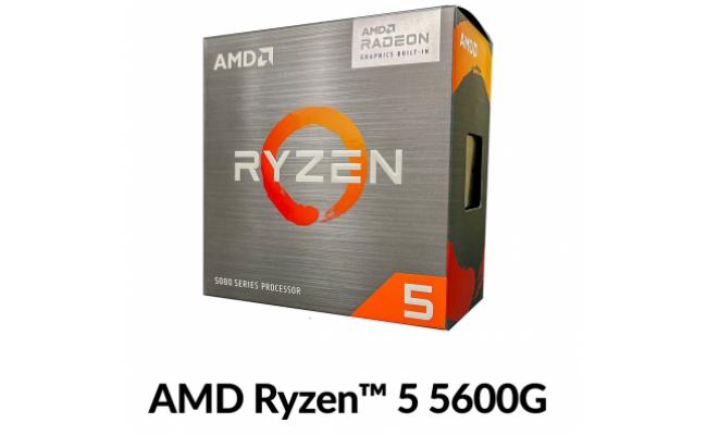 AMD Ryzen 5 5600G Up To 4.4 GHz 6 Cores /12 Threads, Radeon™ Graphics Vega 7,  1900MHZ -  AM4 Processor
