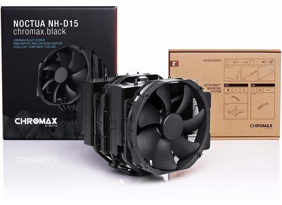 Noctua NH-D15 chromax Black Dual-Tower CPU Cooler (140mm, Black)