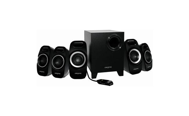 Creative Inspire T6300 5.1 Channel 22 Watt Subwoofer Speaker System