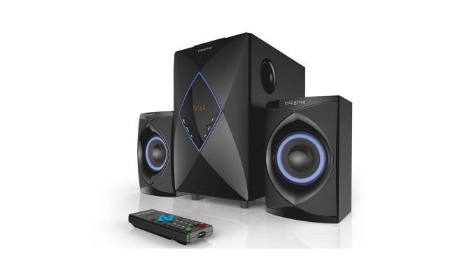 Creative SBS E2800 2.1 High Performance Speakers System (Black)