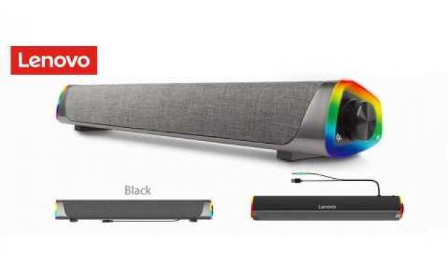 Lenovo L101 Wired Desktop Speaker RGB Light Soundbar