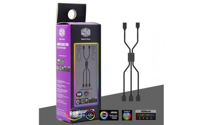 COOLER MASTER ADDRESSABLE RGB 1-TO-3 SPLITTER CABLE 50CM