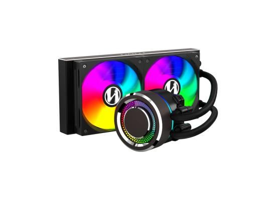 LIAN LI GALAHAD 240MMARGB  ( BLACK / WHITE ) CPU Liquid Cooler