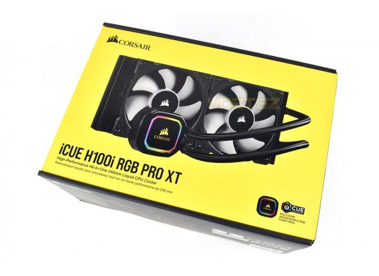 Corsair iCUE H100i RGB PRO XT 240mm Liquid CPU Cooler