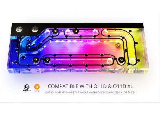 LIAN LI O11 DISTROBUTION-PLATE G1 DESIGNED BY EKWB D-RGB + DDC3.1 PWM - O11 DYNAMIC/DYNAMIC XL