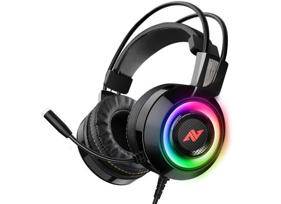 ABKONCORE CH60 REAL 7.1 -  VIVID VIBRATION & RGB - Gaming Headset