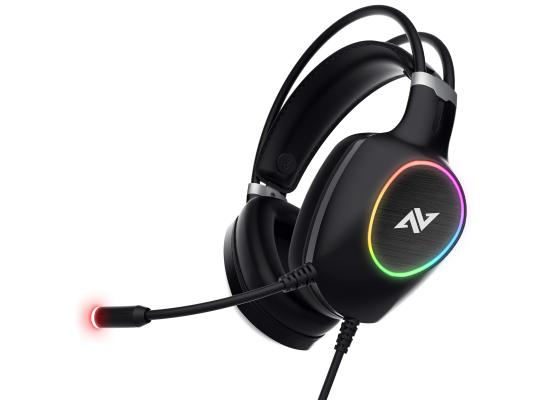 ABKONCORE CH55 VIRTUAL 7.1 - ULTRA VIBRATION & RGB - Gaming Headset