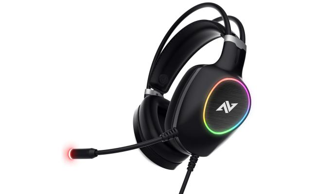 ABKONCORE CH55 VIRTUAL 7.1 - ULTRA VIBRATION & RGB - Gaming Headset