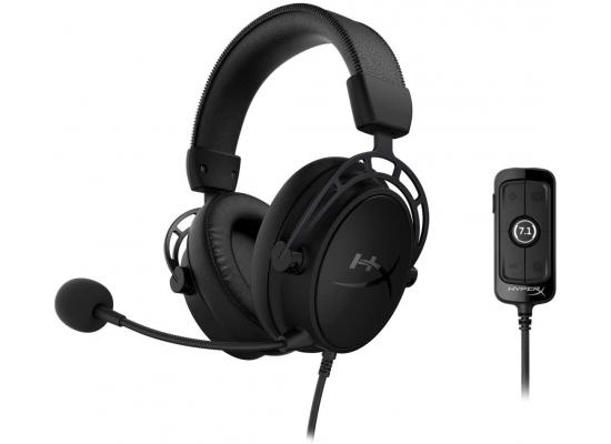 HyperX Cloud Alpha S - 7.1 Virtual Surround Gaming Headset - Blackout Version