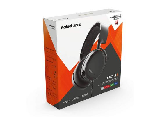 SteelSeries Arctis 3 Black (2019 Edition) Headset