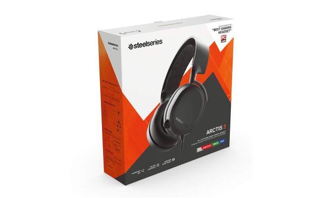 SteelSeries Arctis 3 Black (2019 Edition)
