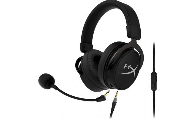 HyperX Cloud MIX - Wired Gaming Headset + Bluetooth,Game and Go, Detachable Microphone, Lightweight, Multi Platform Compatible - Black