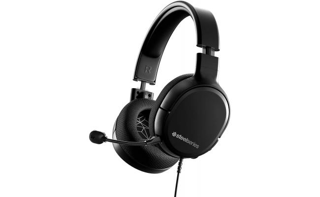 SteelSeries Arctis 1 Wired Gaming Headset - Detachable Clearcast Microphone Lightweight Steel-Reinforced Headband – for PC, PS4, Xbox