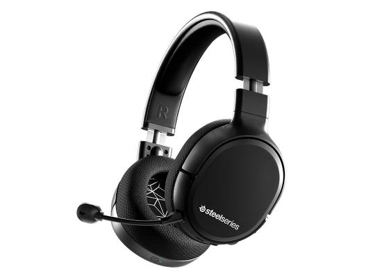 SteelSeries Arctis 1 Wireless Gaming Headset - Detachable Clearcast Microphone – for PC, PS4, PS5, Xbox