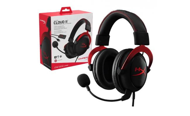 HyperX Cloud II - 7.1 Surround Sound - Gaming Headset