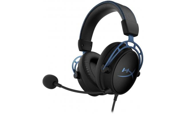 HyperX Cloud Alpha S - 7.1 Virtual Surround Gaming Headset  - Blue