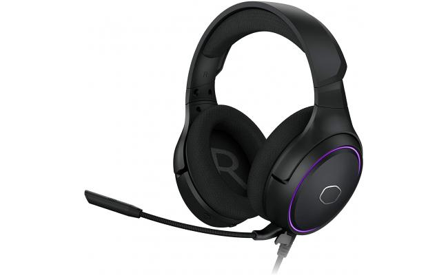 Cooler Master MH650 RGB Virtual 7.1 Surround Sound, Omnidirectional Mic, and USB Connectivity Multiplatform Compatibility Gaming Headset