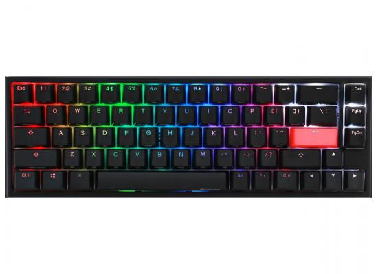 Ducky One 2- SF (Blue Cherry MX) Black RGB Mechanical Gaming Keyboard