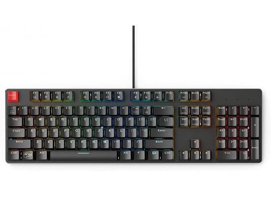 Glorious GMMK Full Size, Modular Mechanical Gaming Keyboard - Full Size 104/105 Keys - RGB LED Backlit, Hot Swap Switches (Black/Brown Switches)