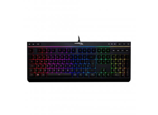 HyperX Alloy Core RGB Membrane Gaming Keyboard, Comfortable Quiet Silent Keys Spill Resistant, Dedicated Media Keys