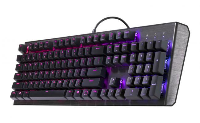 Cooler Master CK550 RGB Mechanical Gaming Keyboard ,  Gateron Red Switches