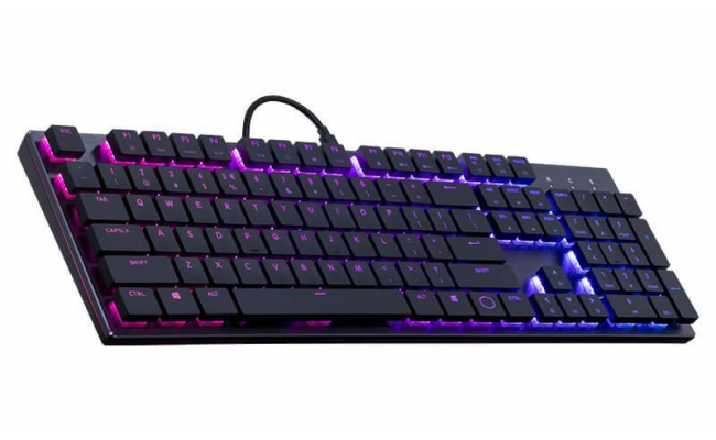 Cooler Master SK650 LOW PROFILE RGB Mechanical Gaming Keyboard