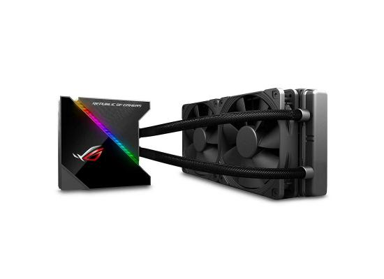 Asus ROG Ryujin 240 all-in-one liquid CPU cooler with LiveDash color OLED