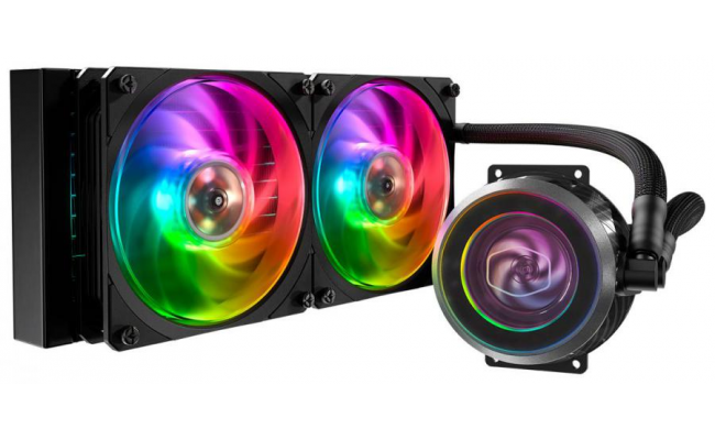 Cooler Master MASTERLIQUID ML240P MIRAGE ARGB CPU Liquid Cooler