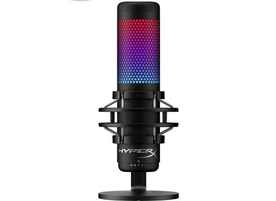 HyperX QuadCast S - USB High Performance Gaming Microphone, RGB ,for PC, PS4 and Mac