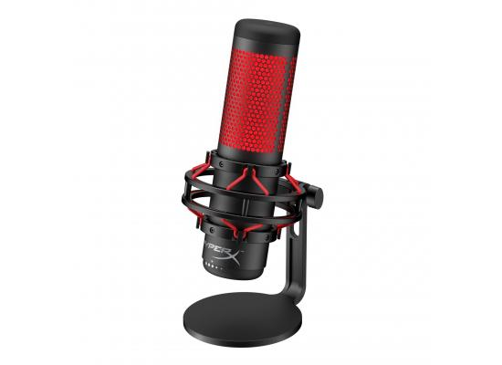 HyperX QuadCast USB High Performance Gaming Microphone, Red LED ,for PC, PS4 and Mac
