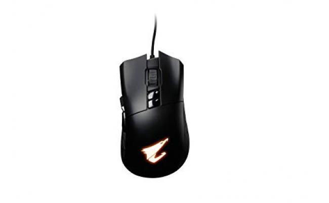 GIGABYTE AORUS M3  6400 DPI  Ergonomic Design RGB Fusion 2.0 Gaming Mouse
