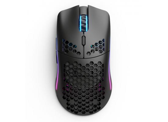 Glorious Model O Wireless & Wired Mode While Charging ,19,000DPI High Battery Life Up To 71 Hours RGB (Matte Black) Gaming Mouse 69G