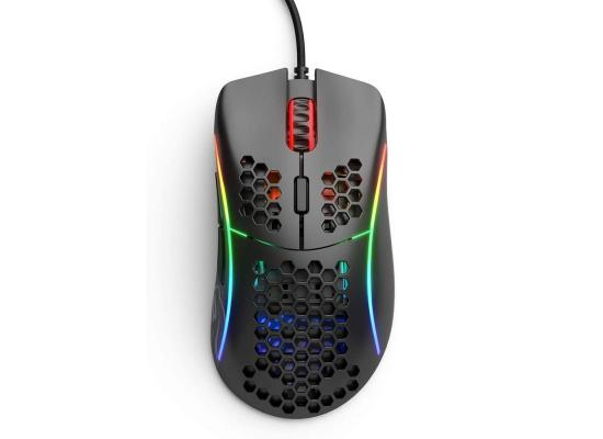 Glorious Model D (Matte Black) Gaming Mouse 12000DPI  Pixart 3360 Optical Sensor RGB 68G