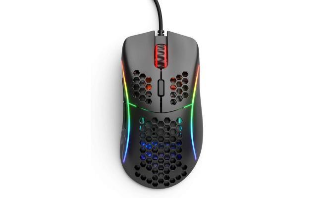 Glorious Model D (Matte Black) Gaming Mouse 12000DPI  Pixart 3360 Optical Sensor RGB 68G