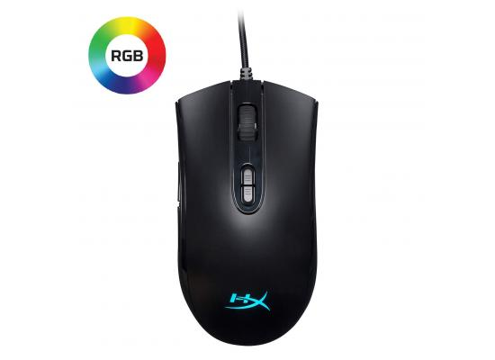 HyperX Pulsefire Core 6200 DPI With 7 Programmable Buttons - RGB Gaming Mouse