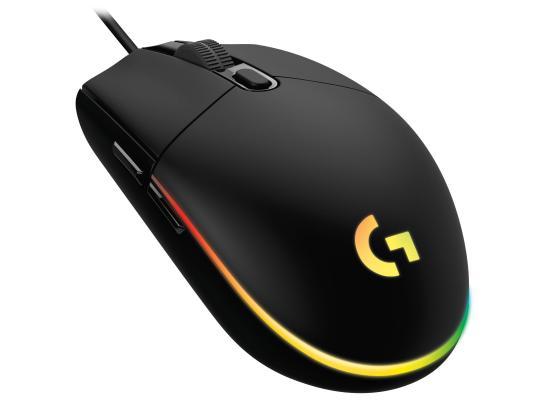 Logitech G102 Customizable RGB Mouse, 6 Programmable Buttons, Gaming Grade Sensor, 8000 DPI Light Weight (Black)