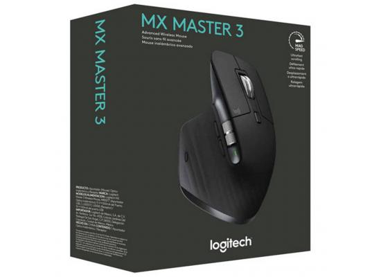 Logitech MX Master 3 Advanced Wireless Mouse For Video Editing & Apps like Photoshop - Graphite