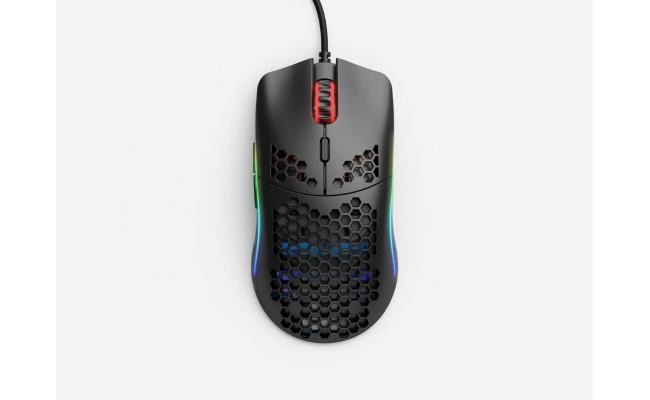 Glorious Model O (Matte Black) Gaming Mouse 12000DPI  Pixart 3360 Optical Sensor RGB 67G