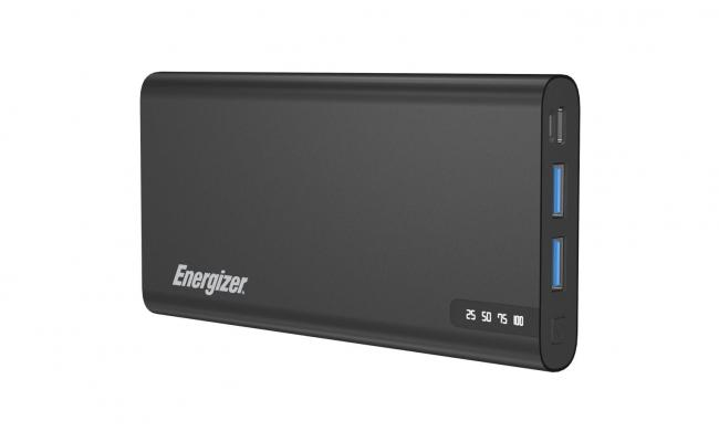 Energizer UE10047PQ 10000mAh 18W Fast Charging Power Bank - Grey